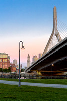 Custom House And Zakim Bridge