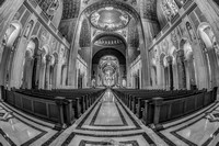 Basilica of the National Shrine of the Immaculate Conception BW