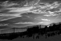 First Light At Cape Cod Beach BW