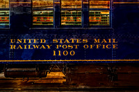 US Mail Railway Post Office Train