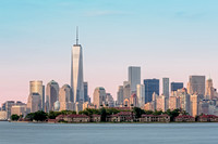 One World Trade Center And Ellis Island 2