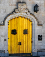 Princeton University Community Hall Door