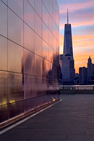 Empty Sky Memorial And Freedom Tower Sunrise