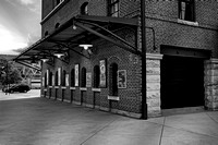 Oriole Park Box Office BW