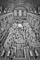 Cat Walk At Grand Central Terminal BW