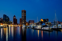 Baltimore Inner Harbor Skyline Reflections