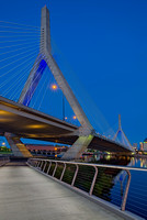 Path To The Leonard P. Zakim Bridge