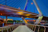 Paul Revere Park And The Zakim Bridge