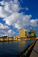 Baltimore Inner Harbor Skyline Marina