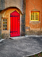 Red Door and Yellow Windows