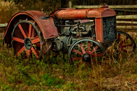 Retired Fordson Tractor